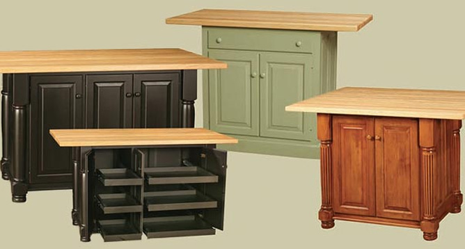 Kitchen Furniture Nisley Kitchen Islands